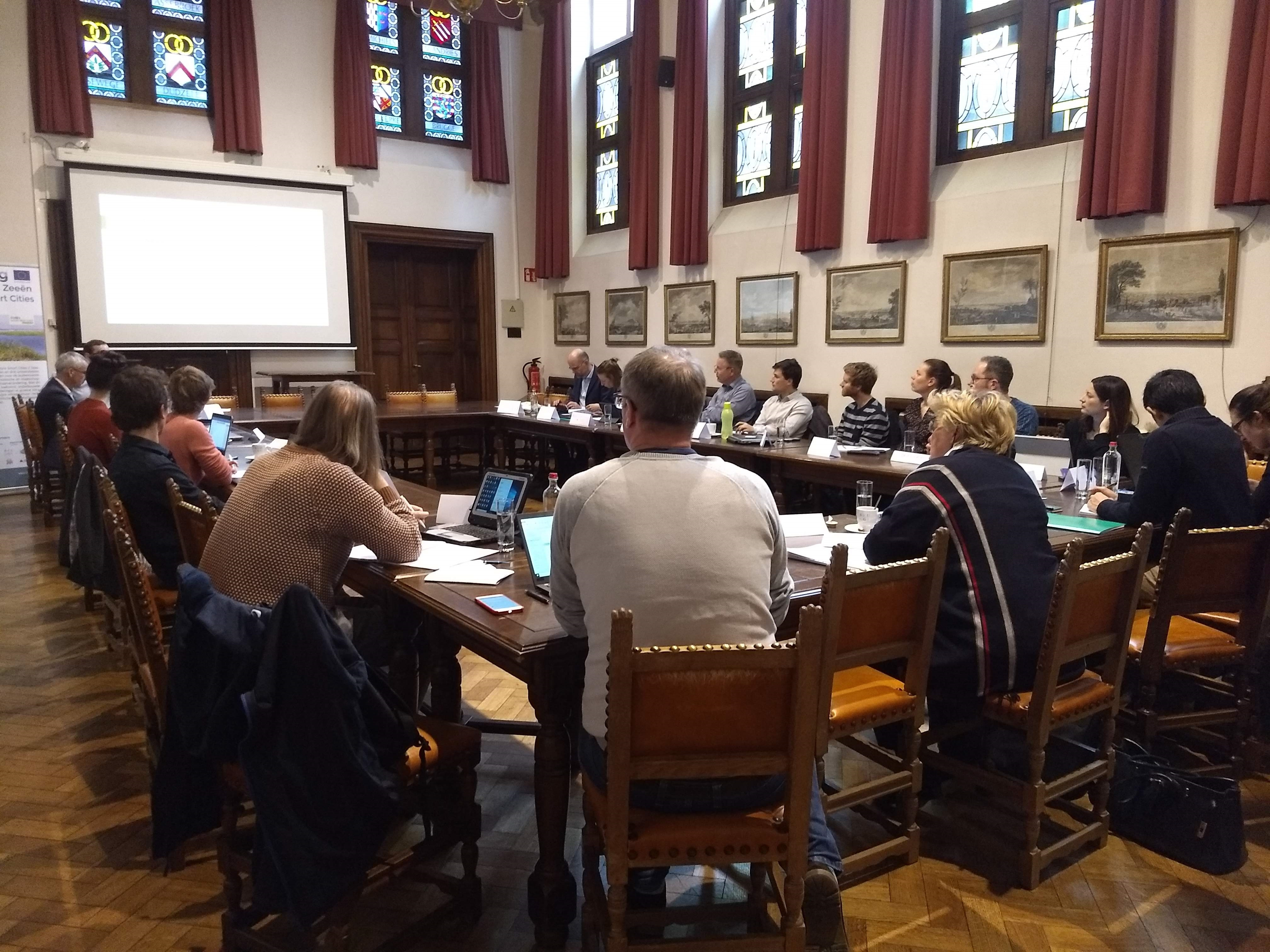 Project Partners meet for the 2nd time in Bruges