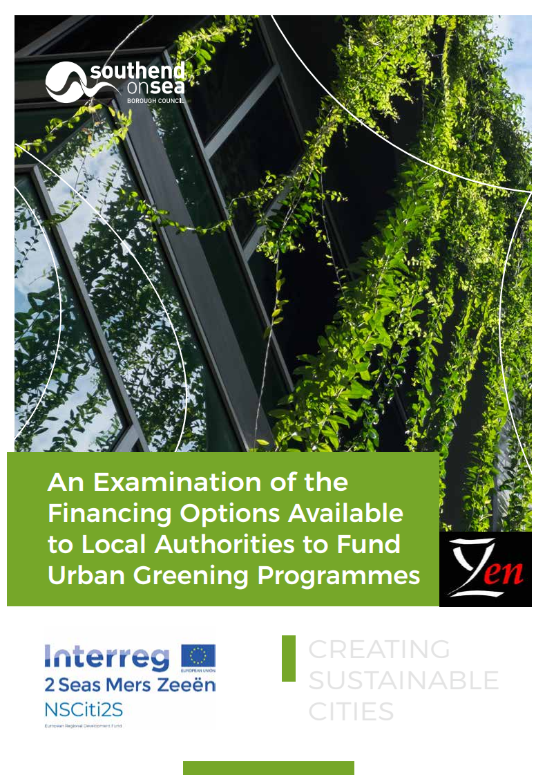New Publication: An Examination of the Financing Options Available to Local Authorities to Fund Urban Greening Programmes