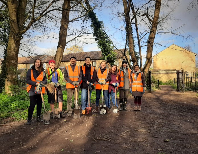 Cambridge City Council meet with The Tree Council to set out plans for Cambridge Tree Wardens scheme